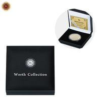 Hot Sale Customized Coin Boxes of New Product Coin Case Gold Silver Coin Display Box