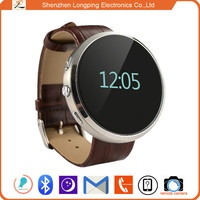 2015 shenzhen factory top mtk 6260 smart watch phone