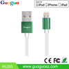 Guoguo hot selling high quality custom driver download usb data cable for iphone 5
