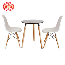 Plastic chairs with metal legs dinging chair in home furniture for office in colorful