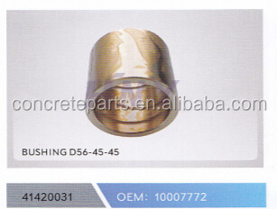 bushing d56-45-45 for schwing truck parts