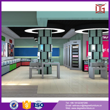 Hot sale electric product display showcase for mobile phone shop