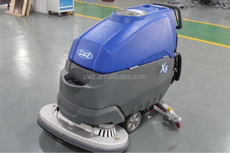 floor sweeper scrubber machine