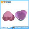 Heart shape silicone cupcake mold silicone cake cup cupcake wrapper