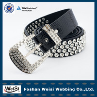 customized design fashion lady handmade beaded belt