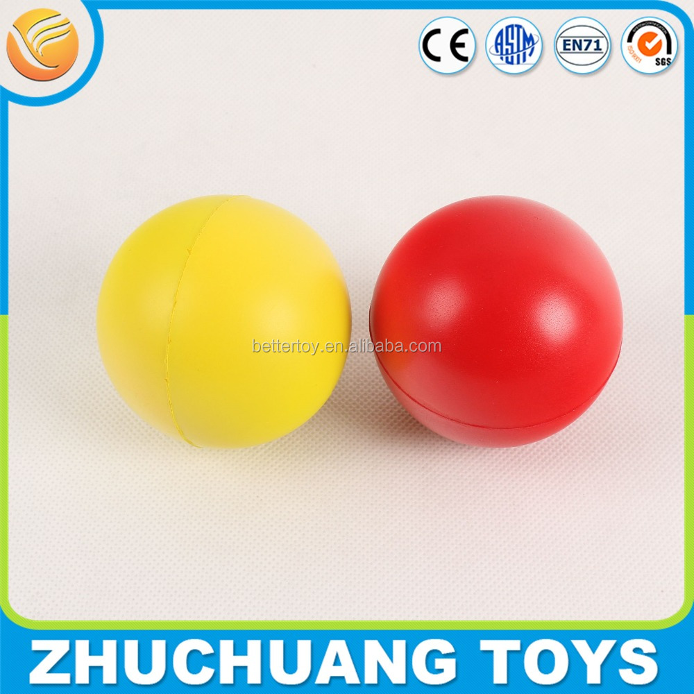 colorful pu foam stress ball