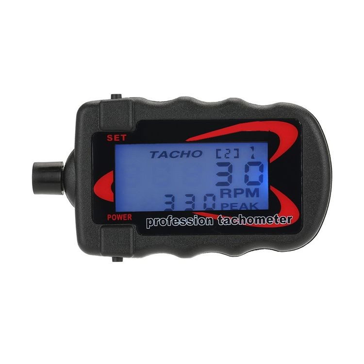911110-RC Digital Professional Tachometer Revolution Meter for RC Aircraft Helicopter Quadcopter