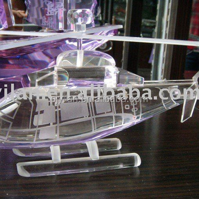 elegant crystal airplane figurine crystal 3d plane 3d crystal plane
