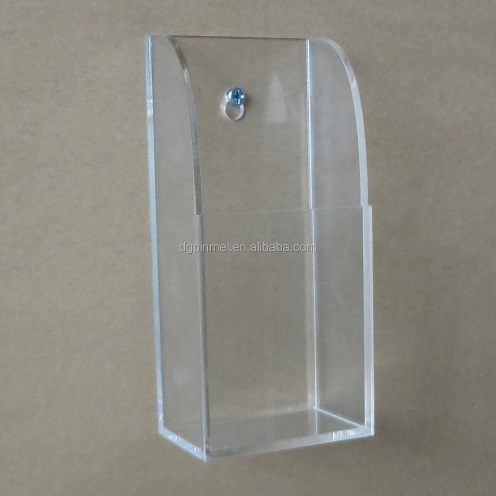 Plastic Remote Control Holder Wall Mounted Acrylic Wall