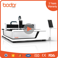 3000watt small 6040 laser cutter for Copper, brass sheet