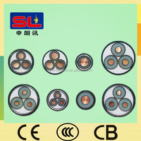 Medium Voltage 8.7/15kV Power Cable XLPE SWA PVC 3 Core Cable
