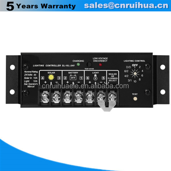 Top grade hot selling instruction to solar charge controller 20a