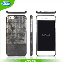 High Quality Luxury crocodile leather skin mobile phone cover case for iPhone 6