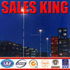 25 m to 50 m good price high mast lighting pole,galvanized square post,field lighting