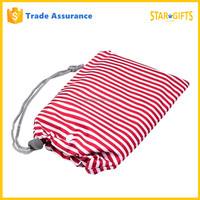 China Manufacturer Wholesale Nylon Christmas Promotion Drawstring Gift Bags