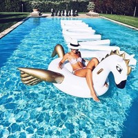 Stock Hot selling Giant Inflatable Pegasus float