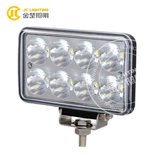 Heavy duty truck led headlight 6 inch 24w led work light for off road vehicle, jeep wrangler, forklift