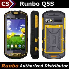 hot sale quad core 2+8MP/1+8GB gorilla glass SOS walkie talkie runbo Q5S military dual sim mobile phone waterproof