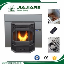 high efficient less smoke and less nose decorative fireplace surround, cast iron wood stove door
