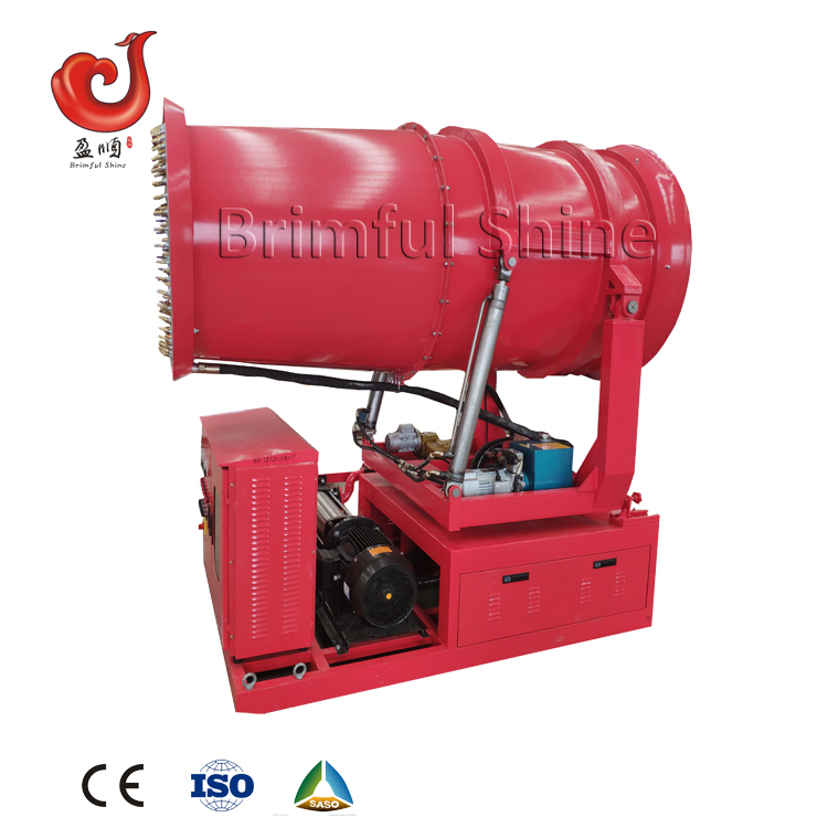 CE industrial <strong>spray</strong> 100m water mist fog cannon machine for dust suppression dust control