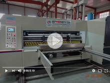 Automatic 4 Color Used Flexo Printer Slotter/flexo printer slotter die-cutter stacker machine