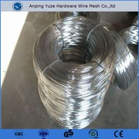 trade assurance gold supplier 0.102mm - 4.572mm galvanized steel binding wire , gi binding wire , iron wire
