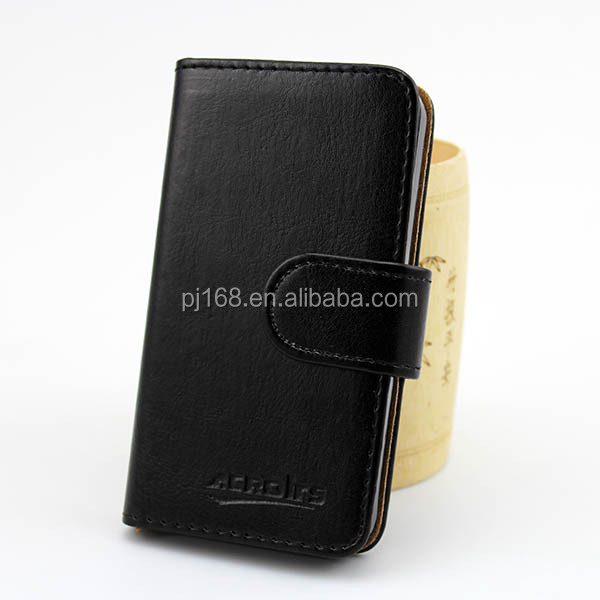 factory price phone cases wallet leather cover case for Lenovo A390 A390T