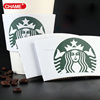 disposable printed hot drink paper coffee cup sleeve