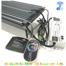 Ideacloud WiFi Controller 120 watt coral reef led aquarium lighting with simulate weather change