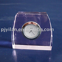 crystal gift crystal table clock