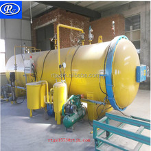 horizontal industrial wood preservative autoclave