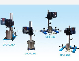 Versatile Sand milling dispersing agitator, Lab Disperser