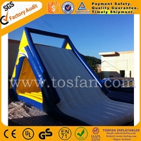 Lake inflatable floating water slide A9014A