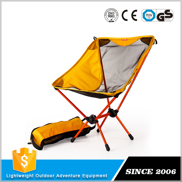 With 2 years warrantee Ergonomic mini folding chair