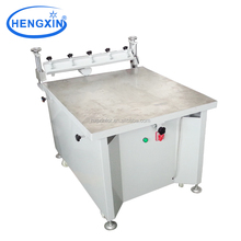High precise hand operated flatbed screen printing machine with vacuum table