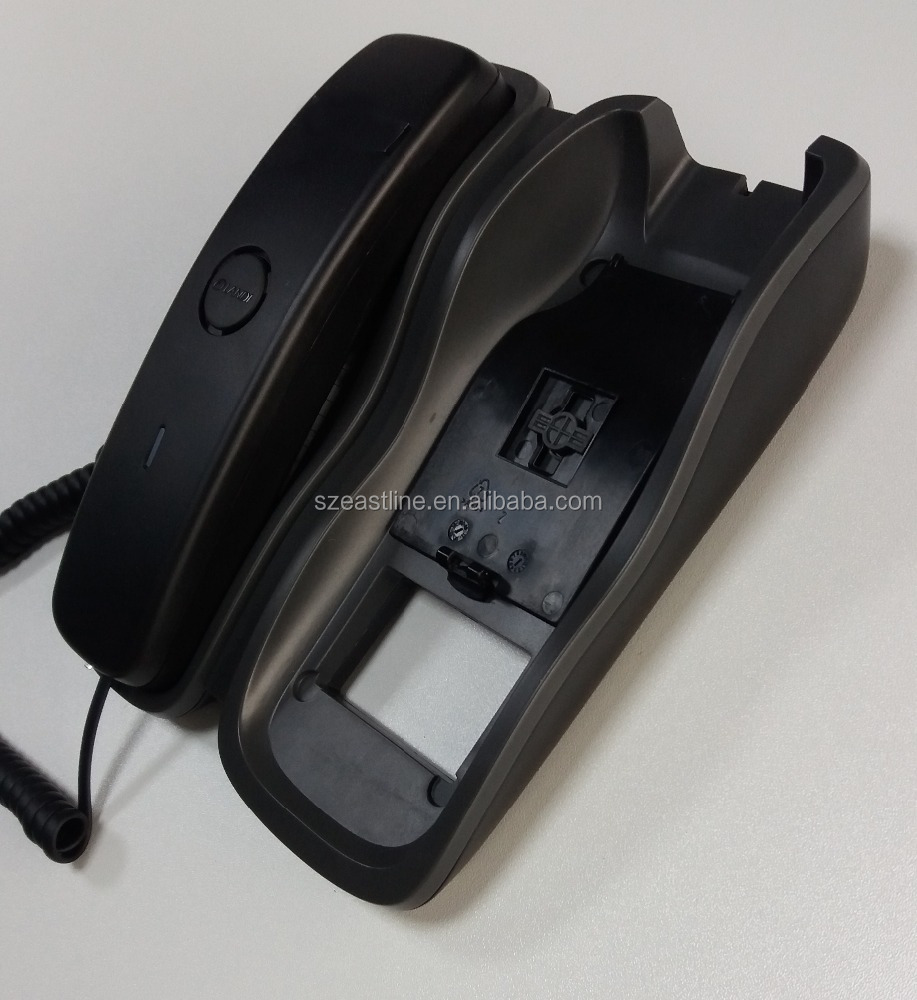 In Stock High Quality Voice Slim Analog CLI Telephone Handset with ON / OFF Switch