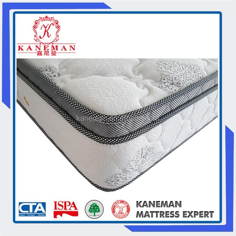 Alibaba China mattress supplier compressed packing Bonnell inner spring mattress queen - Jozy Mattress | Jozy.net