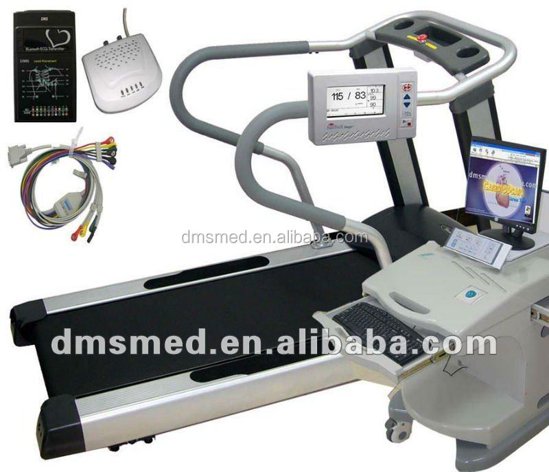 Wireless Treadmill stress test ecg