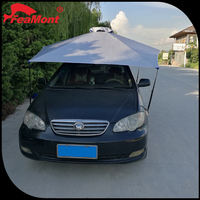 Outdoor heavy duty car parking shelter,electrical car cover