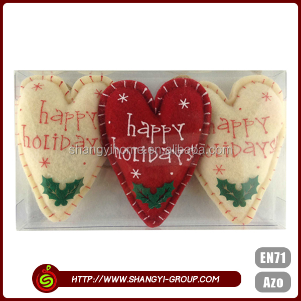 China wholesale cheap high quality christmas wicker heart decorations