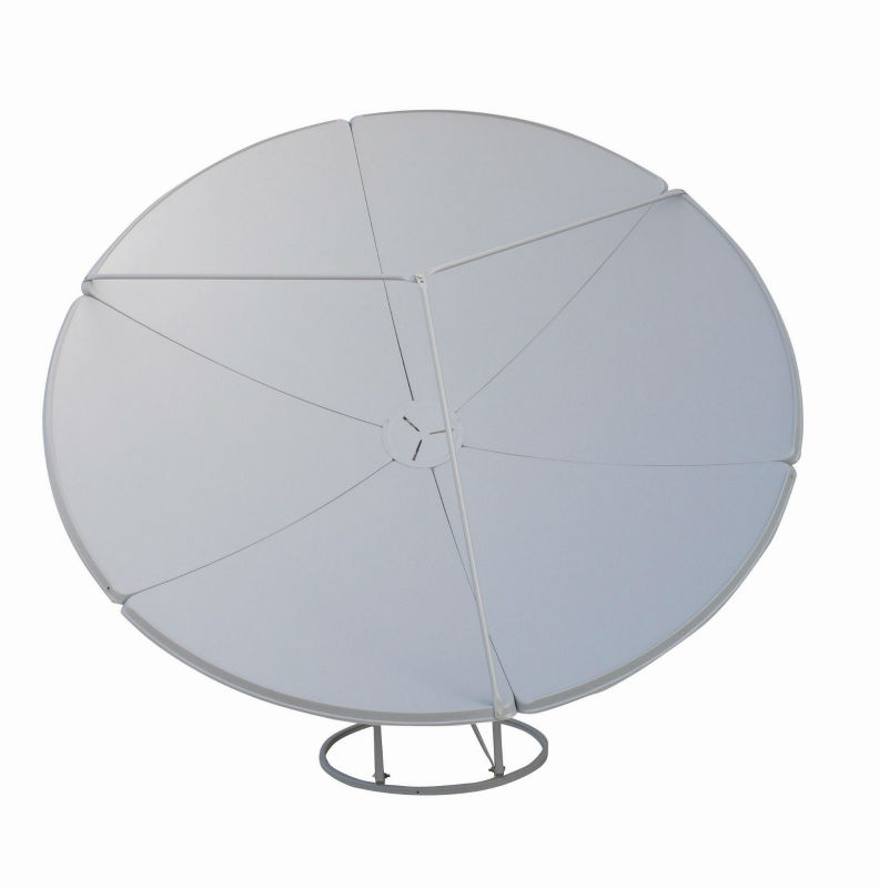 C band satellite dish antenna/offset antenna dish 180cm