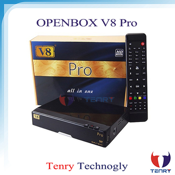 OPEN V8 PRO COMBO Satellite Receiver HD DVB-S2 + DVB-T2 / DVB-C Twin Tuner Support USB WiFi CCcamd NEWcamd Youtube Youporn