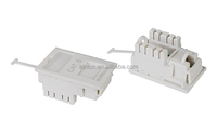 cheap price amp utp rj45 cat5e cat6 keystone jack face plate