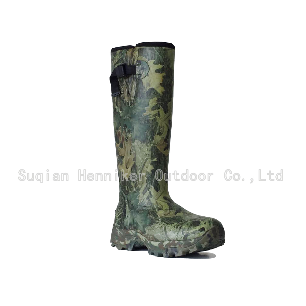 16'' Men's Insulated Camo Neoprene Rubber Boot