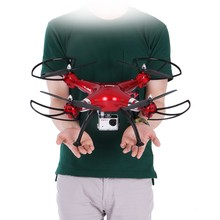 SYMA Professional UAV X8HG 2.4G 4CH RC Quadcopter Gyroscope Remote Control Drone With 1080P HD Camera red helicopter