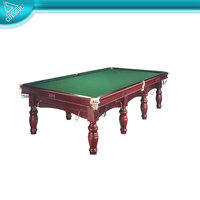 Solid Wood 4CM Slate Billiard Game British table,Snooker Table