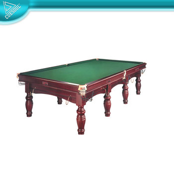 Solid wood 4cm slate billiard game british table snooker for Pool table 6 x 3