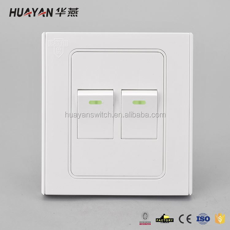 Factory Sale attractive style plastic wall switch from manufacturer