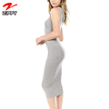 Women's Sleeveless Bodycon Dress with Hoodie Woman Dress