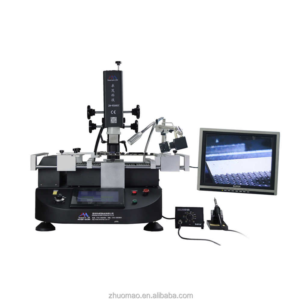bga microscope smt solder machine ZM-R5860C with CCD vision system